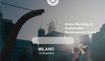 "Milano. Ambiente spa al convegno ""Green Building & Sustainable Development Goals"""