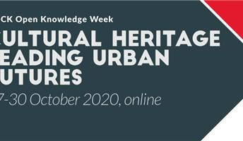 Evento online. Cultural heritage leading urban futures
